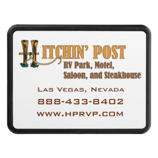 Hitchin' Post RV Park Las Vegas Tow Hitch Cover