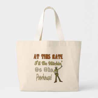 Hitchin To The Poorhouse Tote Bag