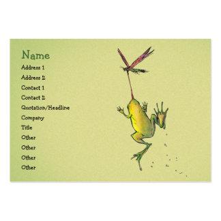 Hitchin una plantilla de la tarjeta del perfil del tarjetas de visita grandes