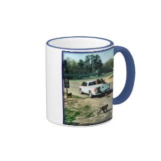 Hitching A Ride Ringer Mug