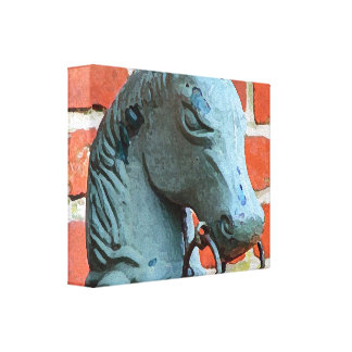 Hitching Post Canvas Prints