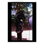 Hitching Post Greeting Card