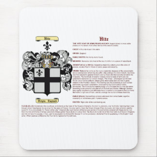 Hite (meaning) mouse pad