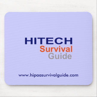 HITECH Survival Guide Mousepad
