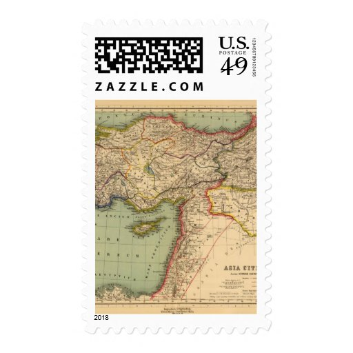 Hither Asia Postage Stamps