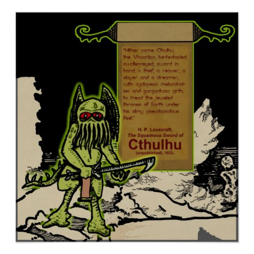 Hither Came Cthulhu... Posters