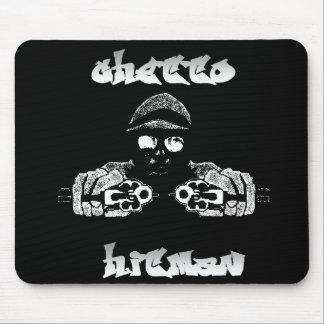 Hitman Mousepad del ghetto Tapetes De Ratones
