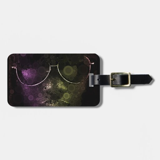 Hits of the seventies luggage tag