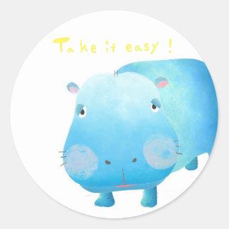 hitsuposhiru classic round sticker