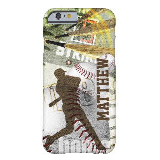 Hitter Bottom of the 9th Baseball Barely There iPhone 6 Case