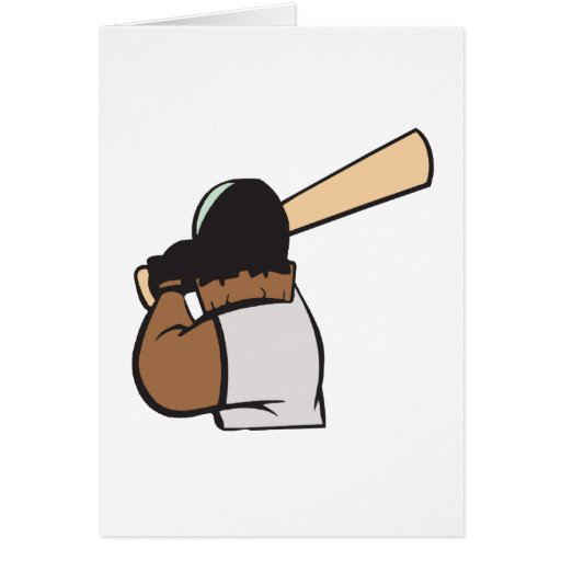 Hitter Greeting Card