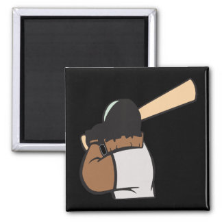 Hitter 2 Inch Square Magnet