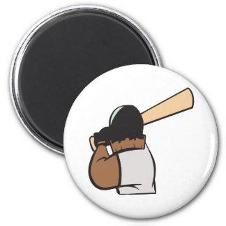 Hitter 2 Inch Round Magnet