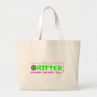 Hitter Traits Tote Bags