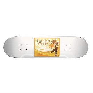 "Hittin la persona que practica surf de las ondas patineta 7 1/8"""