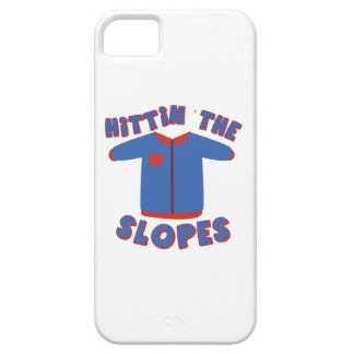 Hittin Slopes iPhone 5 Covers