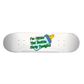 Hittin The Bottle Early Skateboard