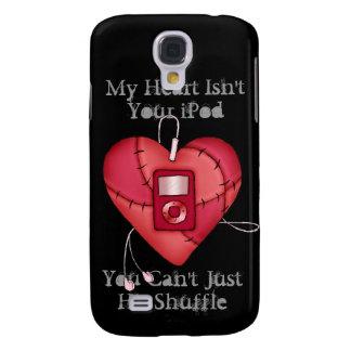 Hitting Shuffle On My Heart Galaxy S4 Covers