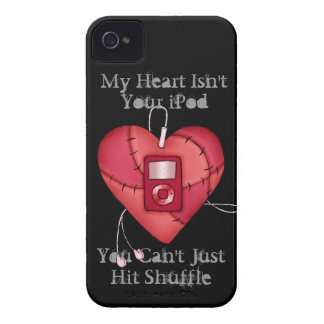 Hitting Shuffle On My Heart Case-Mate iPhone 4 Cases
