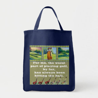 Hitting the Ball tote bag