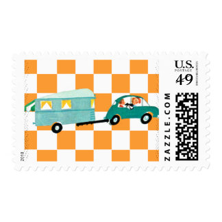 Hitting the Open Road 1 Postage