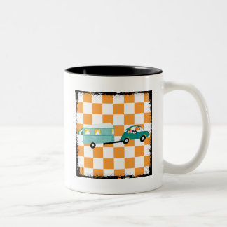 Hitting the Open Road 1 Two-Tone Coffee Mug