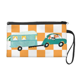 Hitting the Open Road 1 Wristlet