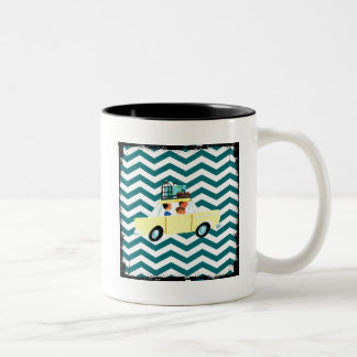 Hitting the Open Road 2 Two-Tone Coffee Mug