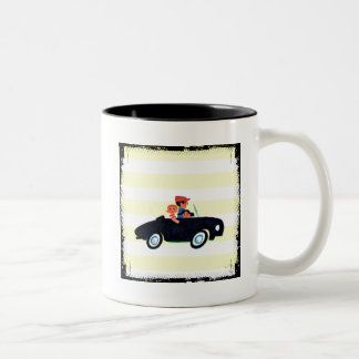 Hitting the Open Road 3 Two-Tone Coffee Mug