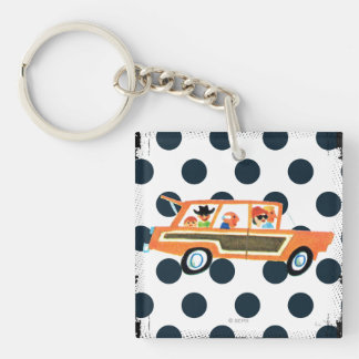 Hitting the Open Road 4 Keychain
