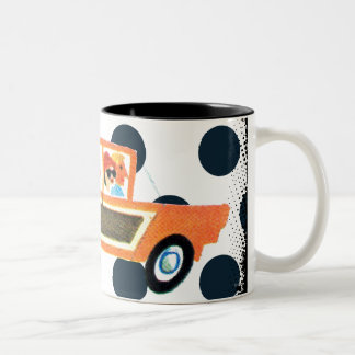 Hitting the Open Road 4 Two-Tone Coffee Mug
