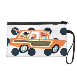 Hitting the Open Road 4 Wristlet Purse
