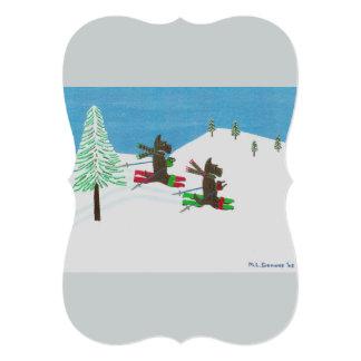 Hitting the Slopes 2015CardContest Holiday Card