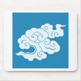 HIUN 'flying clouds' Mouse Pad