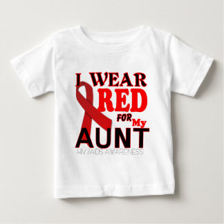 HIV AIDS AWARENESS AUNT.png Baby T-Shirt