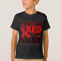 HIV AIDS AWARENESS AUNT.png T-Shirt