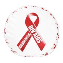 HIV Aids awareness campaign Pouf