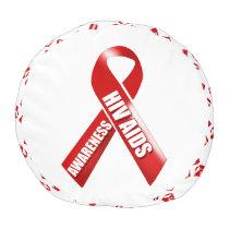 HIV Aids awareness campaign Pouf