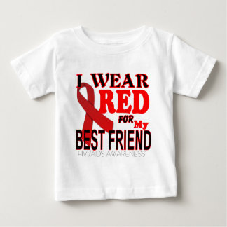 HIV AIDS AWARENESS  for BEST FRIEND Awareness T Baby T-Shirt