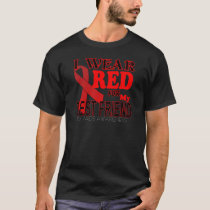 HIV AIDS AWARENESS  for BEST FRIEND Awareness T T-Shirt