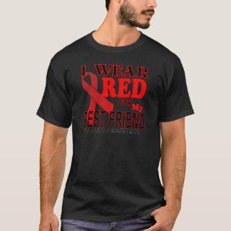 HIV AIDS AWARENESS  for BEST FRIEND Awareness T T-Shirt