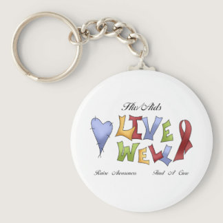 HIV/ AIDS Awareness Keychain