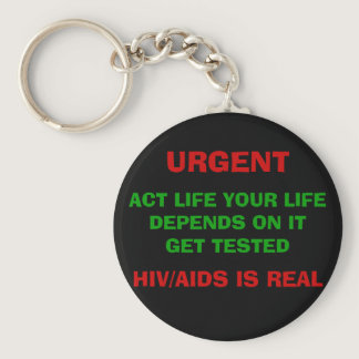 HIV/AIDS AWARENESS Keychain - Customized