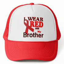 Hiv Aids Awareness Logo Trucker Hat