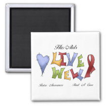HIV/ AIDS Awareness Magnet