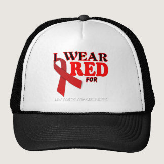 HIV AIDS AWARENESS MONTH TEMPLATE TRUCKER HAT