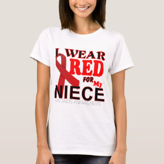 HIV AIDS AWARENESS NIECE T Shirts