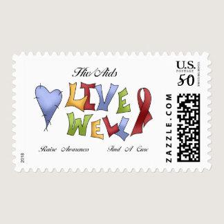 HIV/ AIDS Awareness Postage