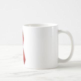 HIV/AIDS Awareness Red Ribbon Coffee Mug