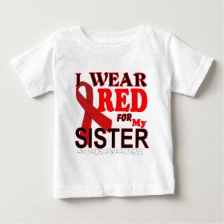 HIV AIDS AWARENESS SISTER.png Baby T-Shirt